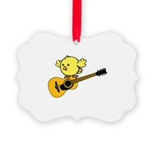 Guitar and Chick. Ornament