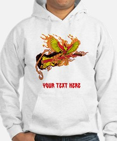 Phoenix and Guitar, and Text. Hoodie