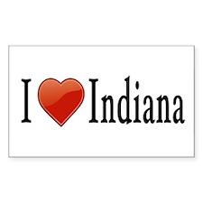 I Love Indiana Decal