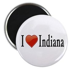 "I Love Indiana 2.25"" Magnet (10 pack)"