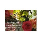 Claude monet magnets Stickers & Flair