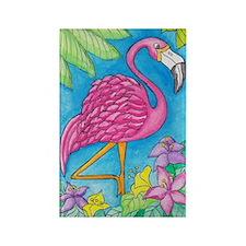 Pink Flamingo Refridgerator Magnet