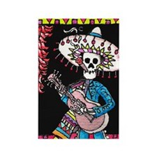 From ATC Orig.Day of the Dead Mariachi Dude Magnet