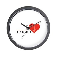 I love Cardio Wall Clock
