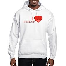 I love McSteamy Hoodie Sweatshirt