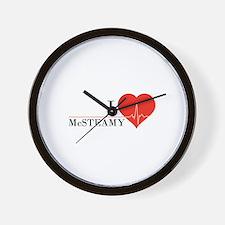 I love McSteamy Wall Clock