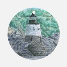 Castle Hill Light Ornament (Round)