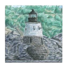 Castle Hill Light Tile Coaster