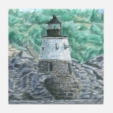 Castle Hill Light Tile Coaster