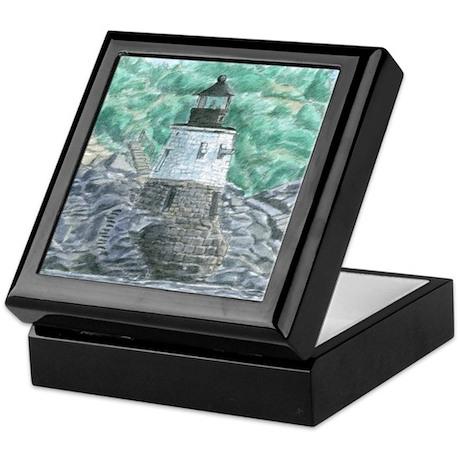 Castle Hill Light Keepsake Box
