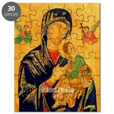 Our Mother of Perpetual Help Byzantine Puzzle