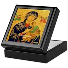 Our Mother of Perpetual Help Byzantine Keepsake Bo