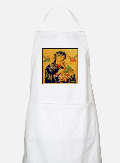 Our Mother of Perpetual Help Byzantine Apron