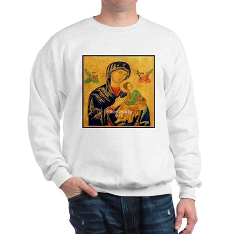 Our Mother of Perpetual Help Byzantine Sweatshirt