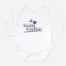 Funny South carolina palmetto tree Long Sleeve Infant Bodysuit