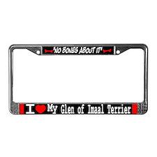 NB_Glen of Imaal Terrier License Plate Frame