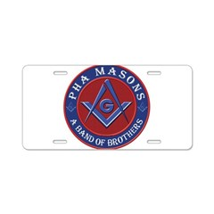 PHA Brothers Aluminum License Plate