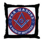 PHA Brothers Throw Pillow