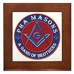 PHA Brothers Framed Tile