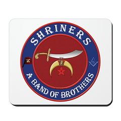 Shrine Brothers. Mousepad