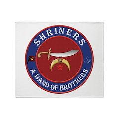 Shrine Brothers. Throw Blanket