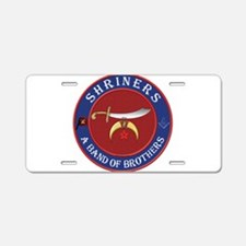 Shrine Brothers. Aluminum License Plate