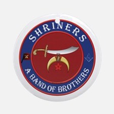 Shrine Brothers. Ornament (Round)