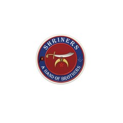 Shrine Brothers. Mini Button (100 pack)