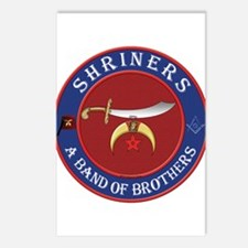 Shrine Brothers. Postcards (Package of 8)