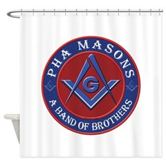 PHA Brothers Shower Curtain