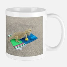 Yoga Spiny the Lizard Mug