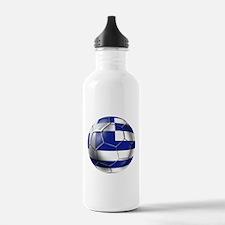 Greece Football Water Bottle