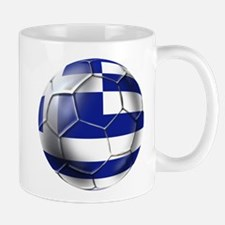 Greece Football Mug