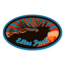 Estes Park Sunrise (Oval)