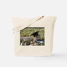 Graduate Spiny the Lizard Tote Bag