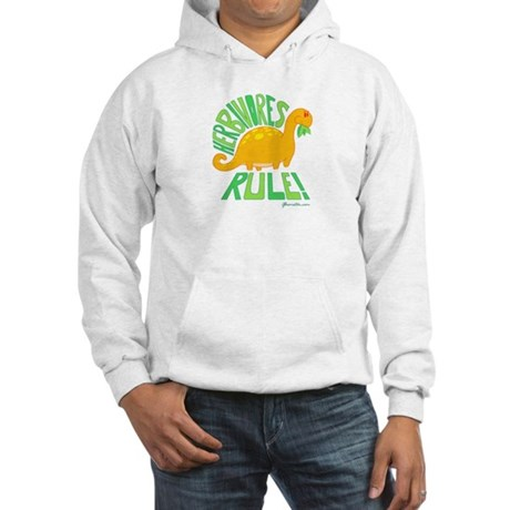 Herbivores Rule! Hooded Sweatshirt