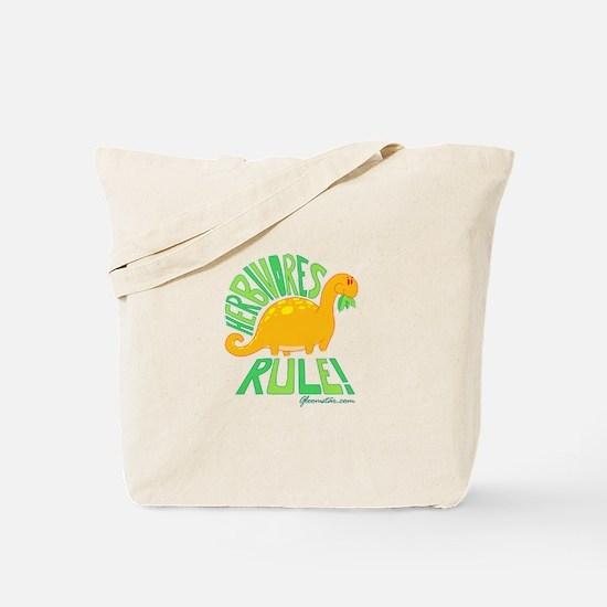 Herbivores Rule! Tote Bag