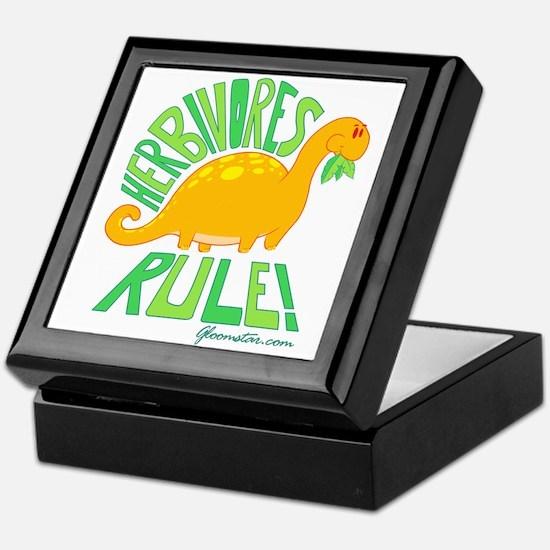 Herbivores Rule! Keepsake Box