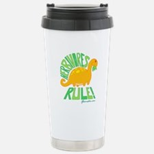 Herbivores Rule! Travel Mug