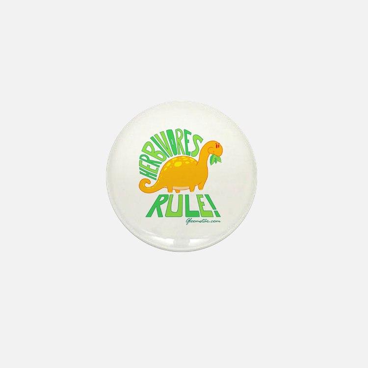Herbivores Rule! Mini Button