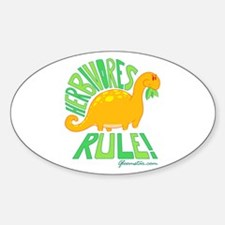 Herbivores Rule! Decal