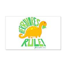 Herbivores Rule! Wall Decal