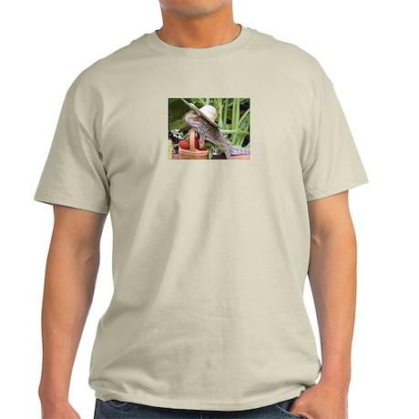 Gardener Spiny the Lizard Light T-Shirt