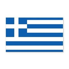 Flag of Greece Rectangle Car Magnet