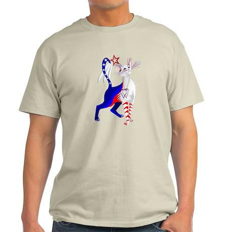 An American Cat Light T-Shirt