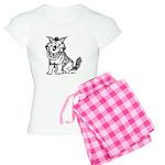 Crazy Dog Women's Light Pajamas