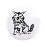 """Crazy Dog 3.5"""" Button (100 pack)"""