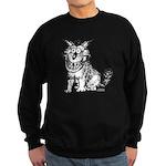 Crazy Dog Sweatshirt (dark)