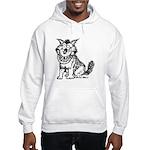 Crazy Dog Hooded Sweatshirt