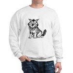 Crazy Dog Sweatshirt